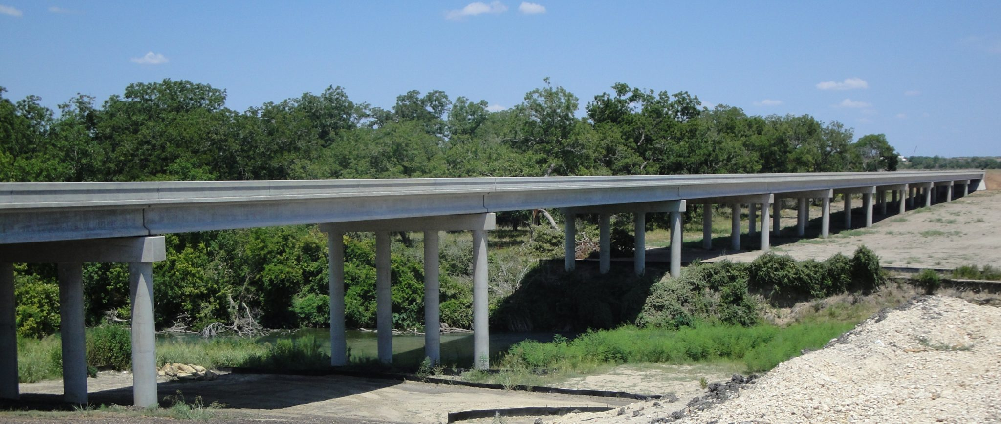 SH 130 Bridge over San Marcos River, Guadalupe County, TX