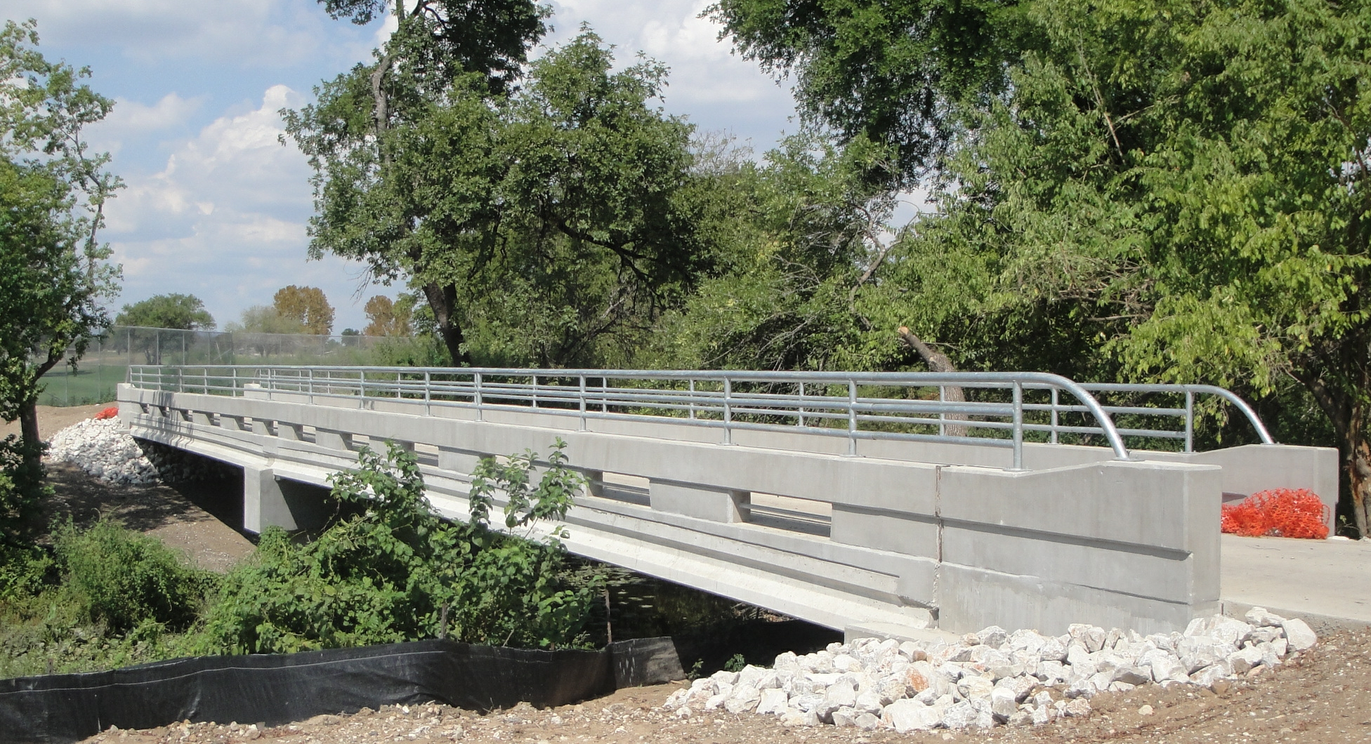 Salado Creek Hike & Bike Bridge, San Antonio, TX